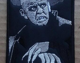 Klaus Kinski Embroidered Patch Nosferatu