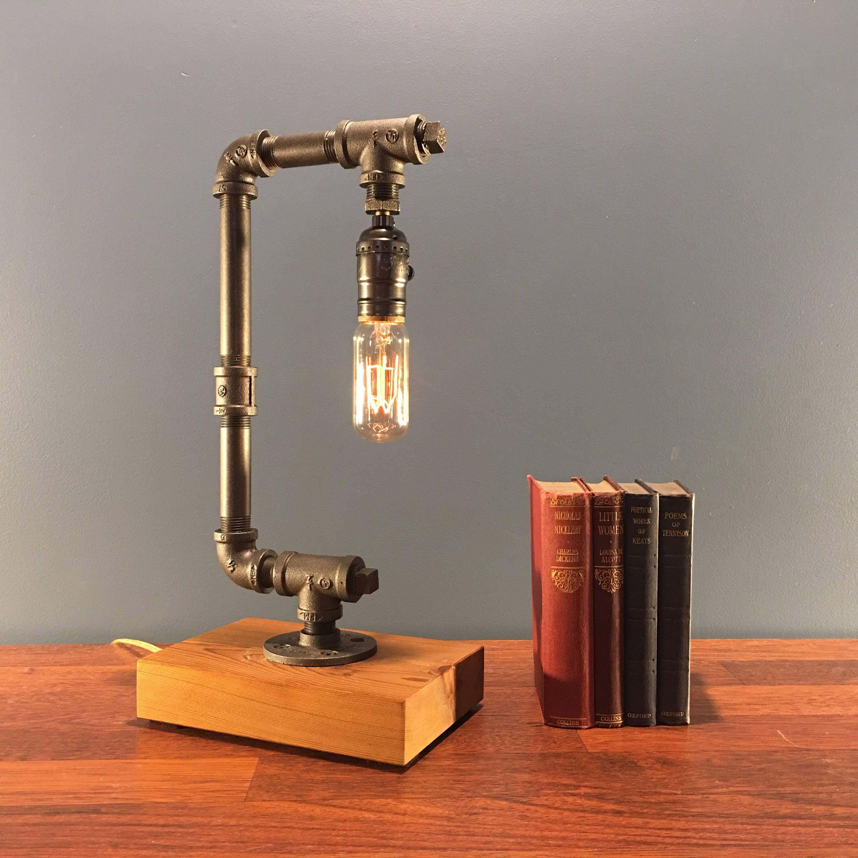 tutorial spaces designed lamp house my tiny for copper pipe small diy design iron custom