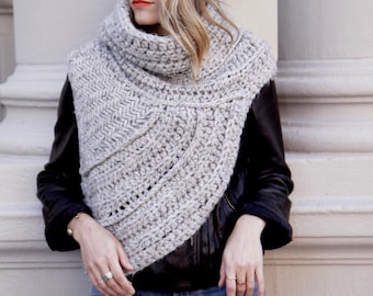 Hunger games style shawl