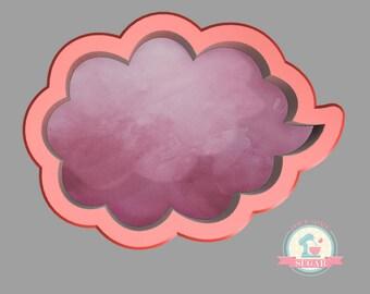 Speech Bubble 1 Cookie Cutter