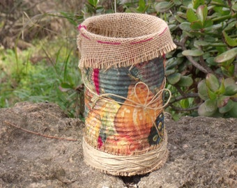 Upcycled Tin Can