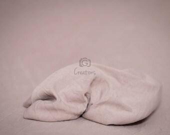 Newborn Wrap Natural Beige / Brown, Newborn Photography Props