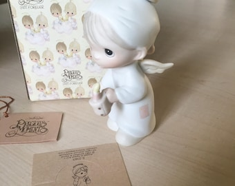 Vintage Precious Moments The First Noel Figurine E-2365