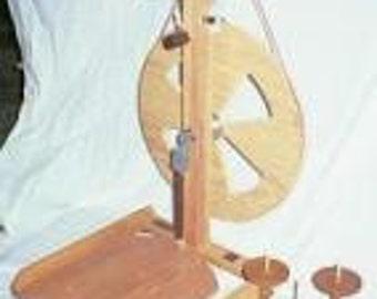 Fricke S-160-ST - Single Treadle Spinning Wheel  Bonus Item