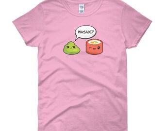Wasabi? Women's short sleeve t-shirt