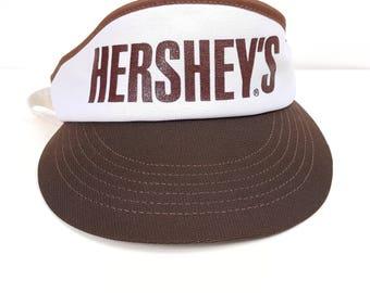 Sun Visor Hat Hip Hop Hipster Streetwear Skater Hershey's Chocolate