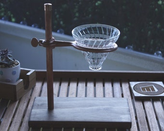Pour Over Coffee Stand - Copper