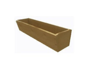 WOODEN WINDOW BOX 85cm x 18cm x 18cm