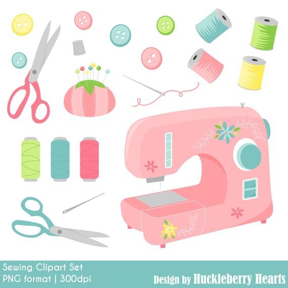 sewing clipart sewing machine digital sewing clip art rh etsy com sewing clipart images sewing clip art free downloads microsoft