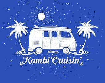 Volkswagen Bus 'Kombi Crusin' T-Shirt