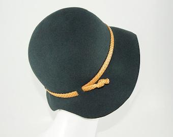 HAT ON SALE, Womens Cloche Hat , Felt Hat For women, Womens hats, Winter Hat