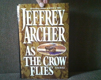 As The Crow Flies, Archer - HANDMADE Secret Diversion Hollow REAL Book Safe