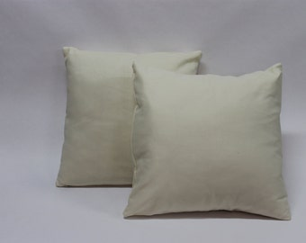 One Off White Decorative Pillow Cover, Decorative Pillow Cover, Off White Pillow Cover, Pillow Cover
