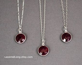 Ruby Real Ruby Necklace Ruby Necklace Ruby Pendant Necklace Womens July Birthstone Natural Ruby Necklace Real Ruby Pendant