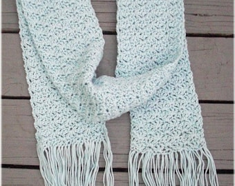 Scarf  Ice Cool Blue Clearance Sale