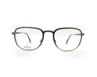 Genuine 1980s Gucci GG 1225 60L Vintage Glasses // Made in Italy // New Old Stock