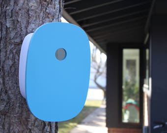 Modern Birdhouse | Blue