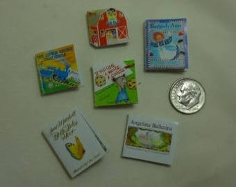 Miscellaneous One Inch Scale Children's Book - set 20