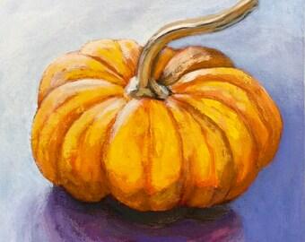 Long Stemmed Pumpkin