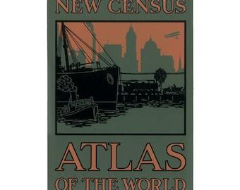 Atlas Cover silkscreen print