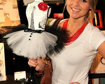 Atutudes Tiny Tuxedo Tutu - Created for the 2012 Oscars Academy Awards Celebrity Gift Lounge