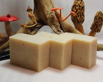 Coconut Milk, Honey, Almond, and Oatmeal Handmade Soap 4.5 oz Homemade Cold Process Bar
