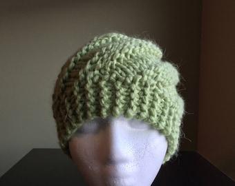 Swirly Messy Bun Hat