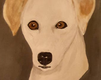 Acrylic painting of your furry pet
