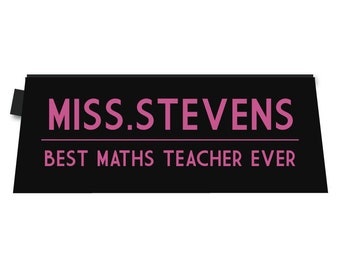 Teacher Gift Personalised Pouch Pencil Case
