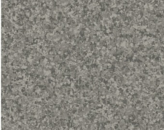 Graphite Gray Solid Textured Fabric - Quilting Treasures QT Basics Color Blender - 23528 K - 1/2 yard