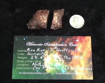 Kem Kem 13 Meteorite ~ Metaphysical Meteorites, Cosmic Crystals, & Space Stones OH MY!!!