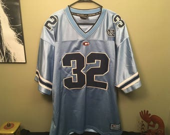 Vintage Threads: Men's North Carolina College Football Jersey