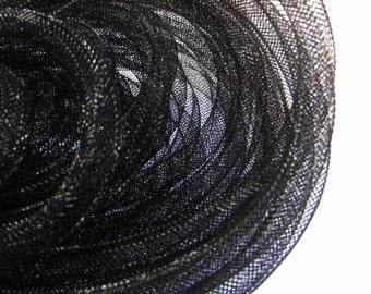 D-03056 - 1m Mesh tubing black 8mm