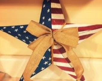 Patriotic Barn Star