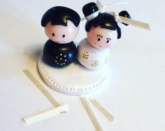 Polymer clay wedding decoration