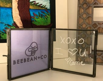 CUSTOM Handwriting 4x4 Frame