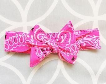 Bowdana Wrap (Poppin' Pink)
