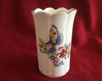 Aynsley Butterflies Vase