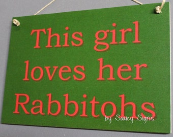 South Sydney Rabbitohs Souths This Girl Rugby League Footy Football Sign Bar Pub Man Cave