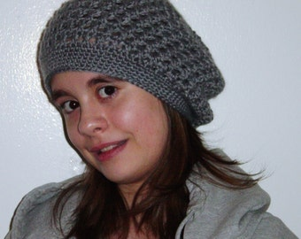 Womens Slouch Hat with Bow