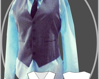 Sewing Pattern: Men's Simple Waistcoat