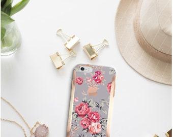 iPhone 8 Case iPhone 8 Plus Case iPhone X Richmond Rose Gray  Hard Case Otterbox Symmetry