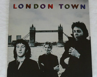 Wings - London Town - Vintage 1978 Vinyl LP - Paul McCartney