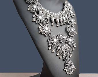 """ethnic inspired necklace"" Bohemia """