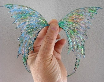 Opal Fire-Ooak Fairy Wings  (Made to Order by Request)
