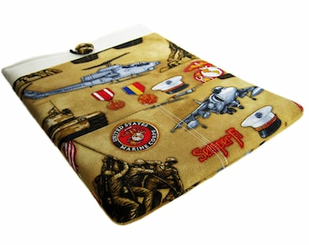 Macbook Pro Case, Macbook Pro Sleeve, 13 inch Macbook Pro Cover, 13 inch Macbook Pro Case, Laptop Sleeve, Marines