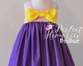 Rapunzel Dress | Princess Rapunzel | Girls Rapunzel Dress | Toddler Princess Dress |Rapunzel Birthday Party | Tangled Dress | Princess Party