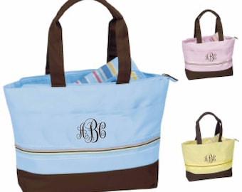 Flash Sale Monogrammed Diaper Bag, diaper bag embroidery,