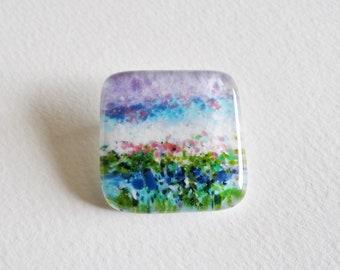 Seascape Brooch - Pink
