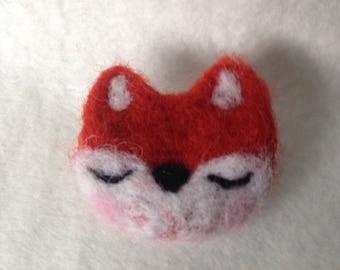 Lovely Fox Brooch Gift